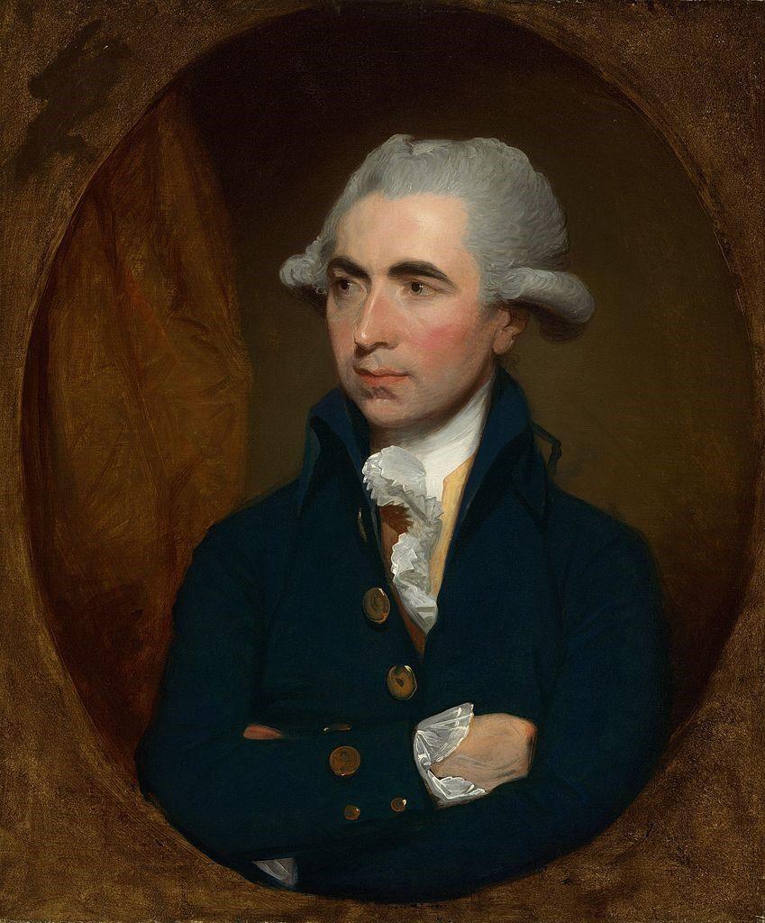 Luke White Portrait by Gilbert Stuart