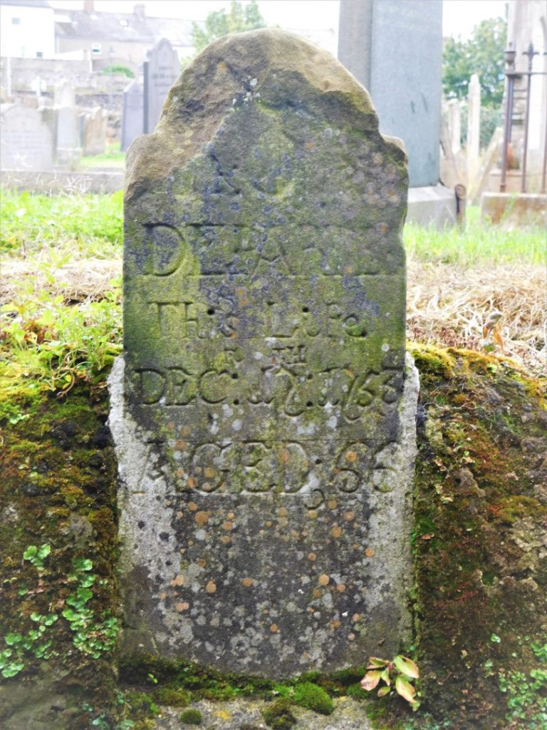 Old grave at St Nicholas