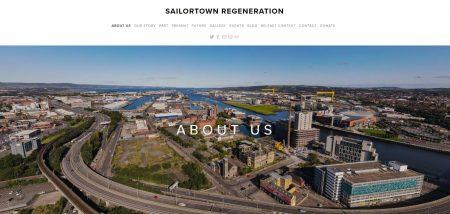 Sailortown Regeneration Website