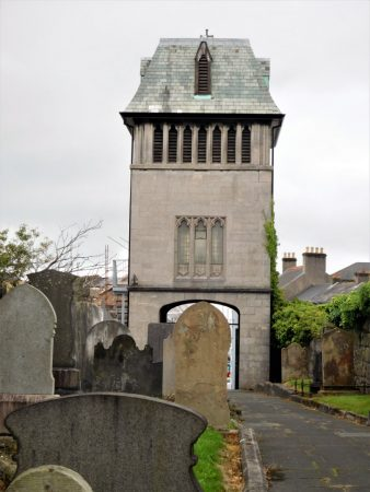 The Bell Tower viewed from church grounds