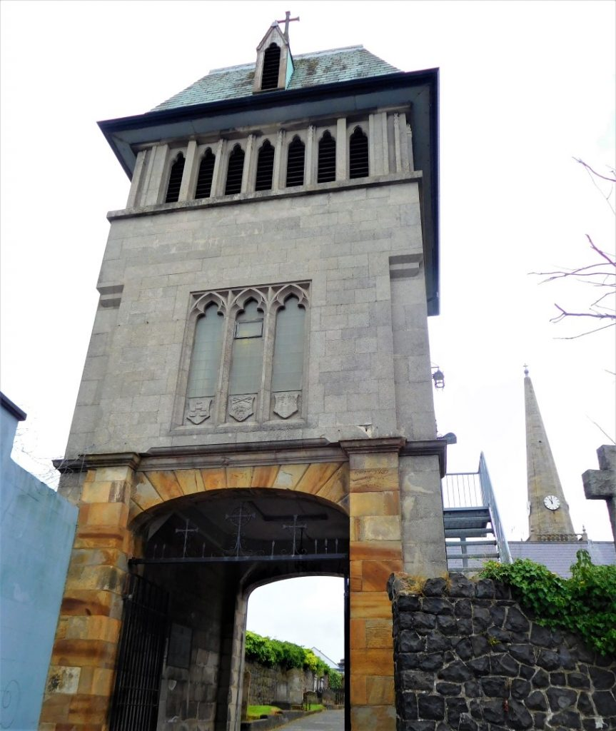 The Bell Tower viewed from the street