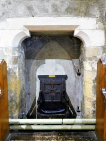 The Priests Door - now blocked