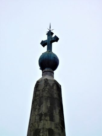 The ball and cross