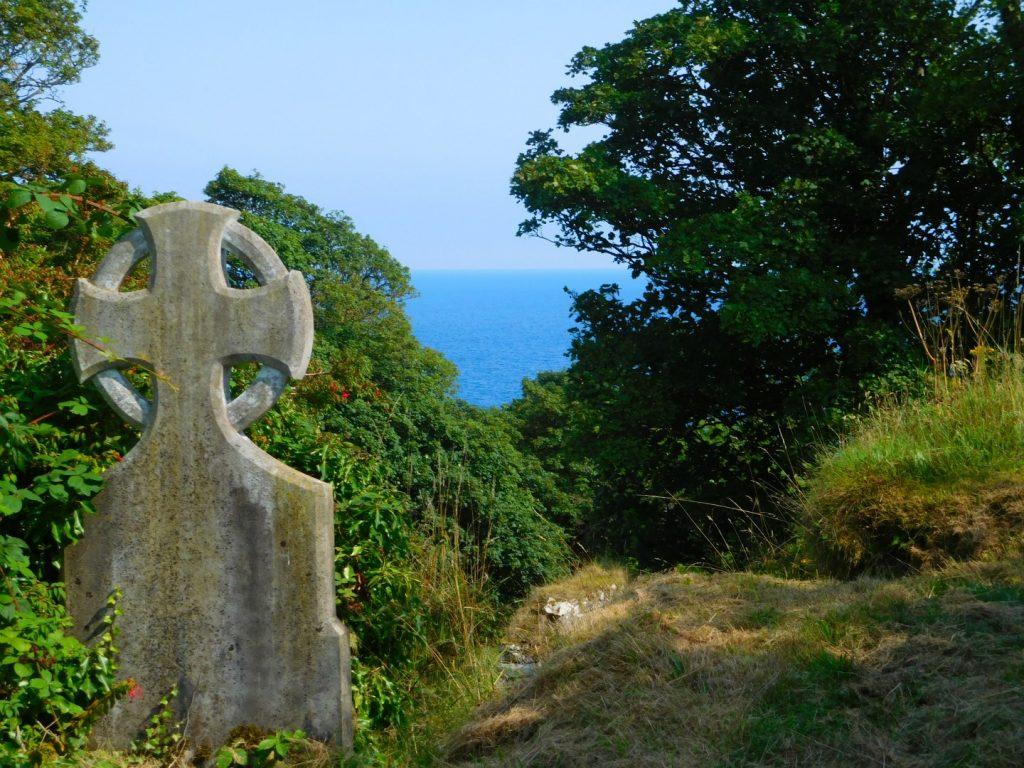 Sea View from Graveyard